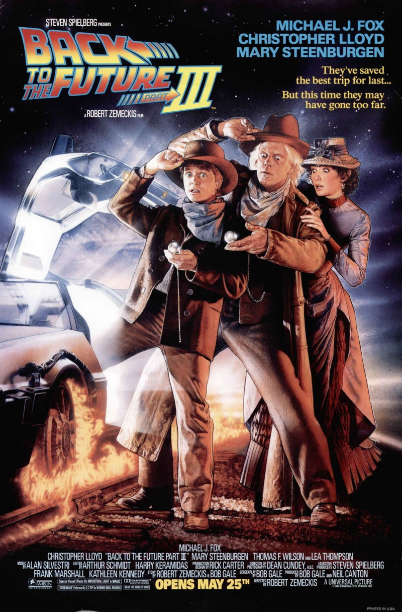 Back to the future part iii movie poster thumbnail